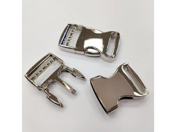 Фастекс металл 32 мм. СЕРЕБРО