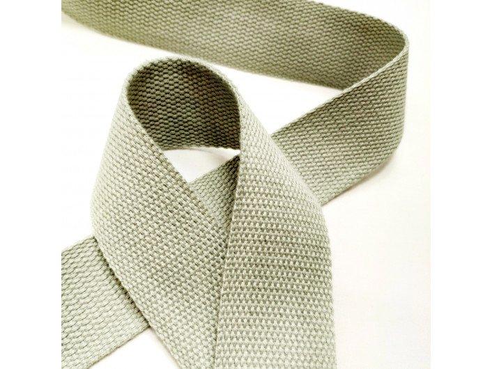 Стропа светло-серого цвета 3,8 см