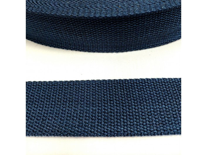Стропа темно-синего цвета 3,8 см