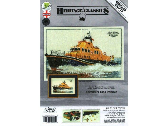 Вышивка Корабль Lifeboat 27,5*19