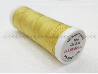 Нитки для джинсы Aurora 8007