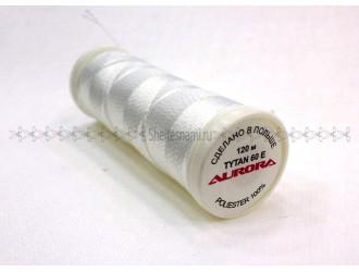 Нитки для кожи Aurora 2500 (Белые)