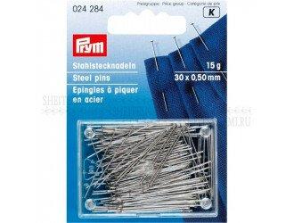 Булавки для шелка и сатина 0,50x30 мм PRYM