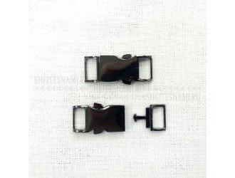 Фастекс металл 10 мм. ЧЕРНЫЙ