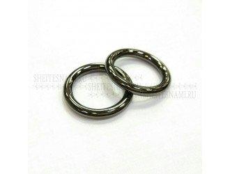 Кольцо метал. литое 25 мм ЧЕРНОЕ