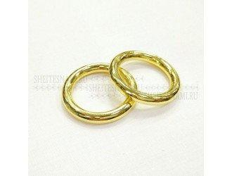 Кольцо метал. литое 25 мм ЗОЛОТО