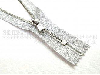 Молния метал. н/р №5 СЕРЕБРО 18 см.