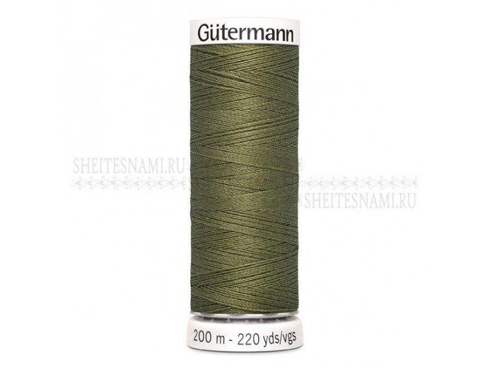 Нитки Gutermann sew-all №50 200 м. №432 ХАКИ