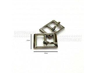 Пряжка металлическая ЧЕРНАЯ 13 мм