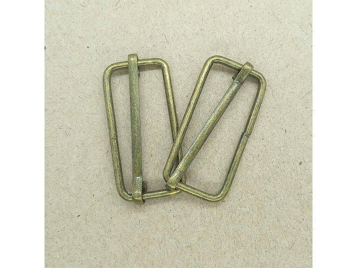 Рамка-регулятор 3 см металлическая антик